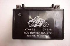 BA. YTX9-BS Quad Battery