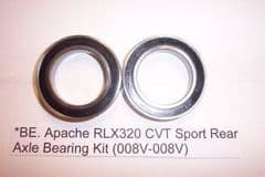 BE. Apache RLX320 CVT Sport Rear Axle Bearing Kit (008V-008V)