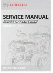MA. QUADZILLA X8 Service Manual