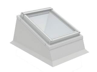 VELUX - ECX CK04 0000T - Insulated kerb for installation of RW in flat roof, 0-15 degrees,55x98