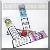 Strawberry Kiwi Platinum Joint Rolling Blunt Wraps 2 pack