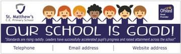 Ofsted Good banner - Template 3