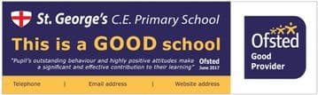 Ofsted GOOD banner - Template 4