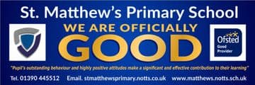 Ofsted Good banner - Template 6