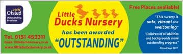 Ofsted Outstanding banner - Template 2