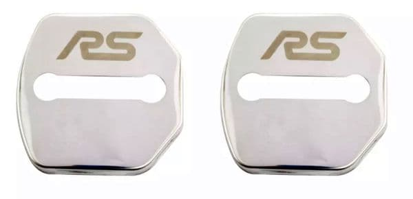 2 X Door Lock Covers-MK3.5 Focus RS