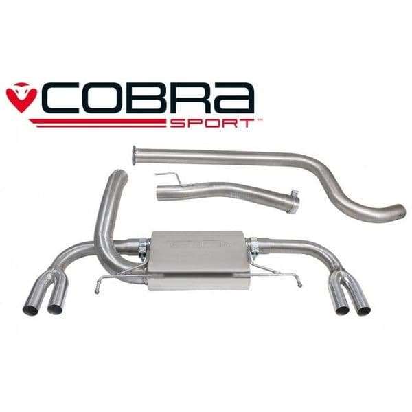 Astra J VXR Cat Back Exhaust (Resonated)
