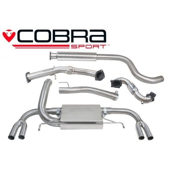 Astra J VXR Turbo Back Exhaust (with Sports Catalyst & Resonator)