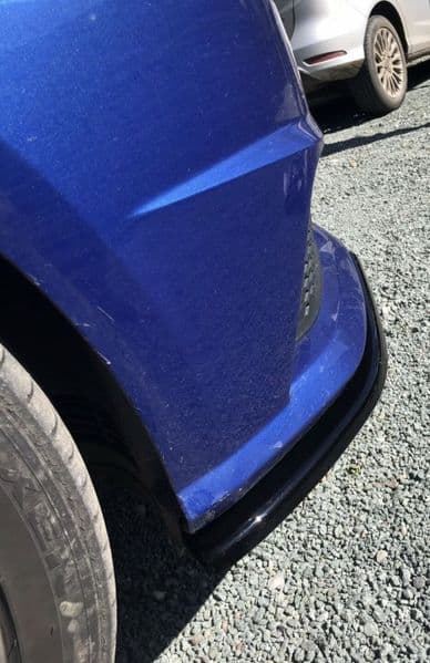 Audi S1 8X Front Lip And Side Skirt Splitters