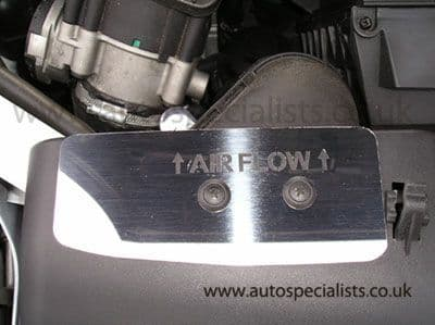 AutoSpecialists Airflow Deflector Trim (with Logo) for Focus ST Mk2 PFL