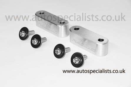 AutoSpecialists Bonnet Spacer Blocks for Fiesta Mk7