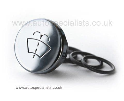 AutoSpecialists Large Round Washer Stopper with Logo for Focus Mk2