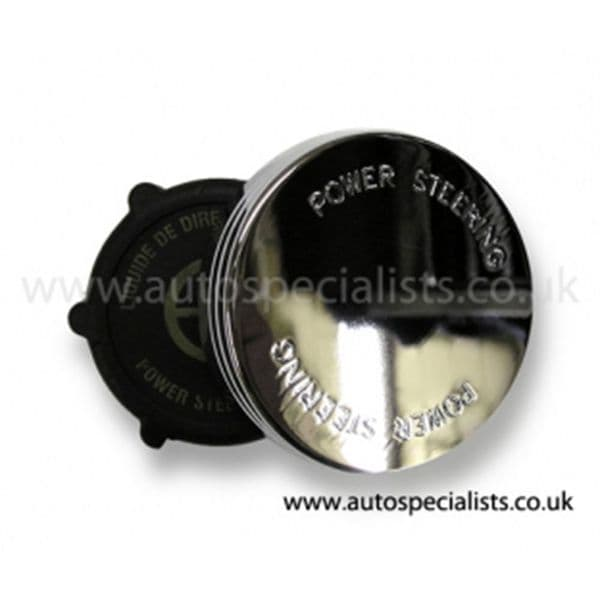 AUTOSPECIALISTS POWER STEERING CAP WITH LOGO