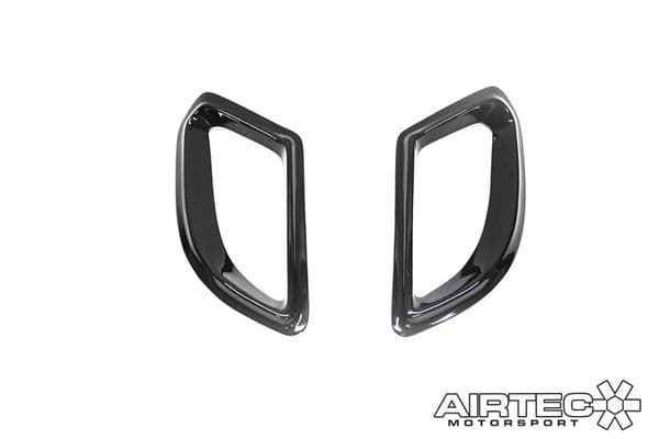 AutoSpecialists WRC Style Bonnet Vents for Fiesta Mk7 PFL