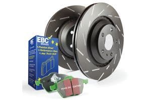 BMW F20/F21- EBC Brakes Pad And Disc Kit To Fit Rear PD06KR399