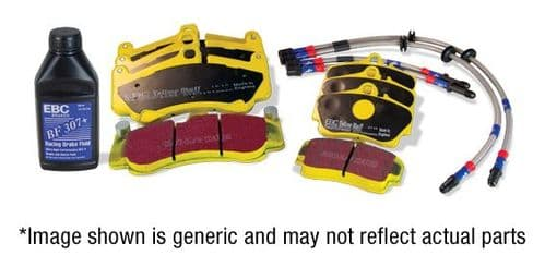 BMW F20/F21- Performance Pack Pad+Line Kit With Yellowstuff Pads PLK1362