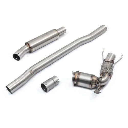 BMW M135i (F40) Front Downpipe Sports Cat / De-Cat To Cobra Sport Performance Exhaust Package