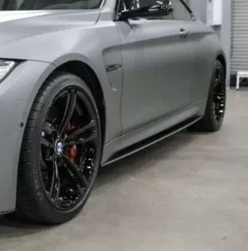 BMW M3 F80 Pair of  Side Skirt Lips