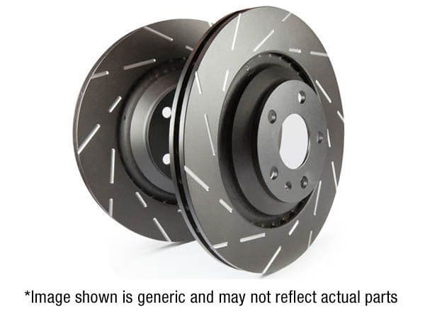 EBC USR Series Fine Slotted Discs (Pair) to fit Rear