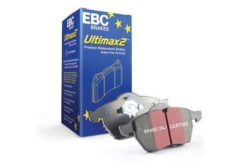 FIESTA MK8 -  EBC Ultimax OE Replacement Brake Pad Set To Fit Front DPX2353