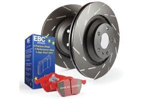Focus MK2.5 RS-EBC Red stuff Brakes Pad and Disc Kit to fit Front