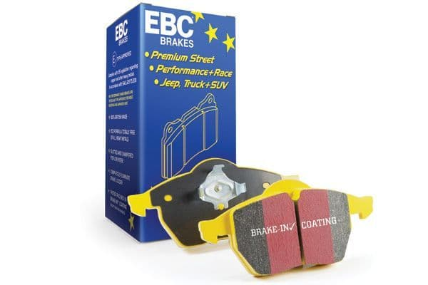 FOCUS MK3 ST-EBC DP41749R  Yellowstuff 4000 Series Street and Track Brake Pad Set to fit Rear