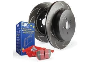 Focus MK3 ST-EBC Front Pad Disc Kit - BSD Discs and Redstuff Pads