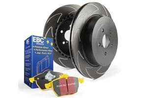 Focus MK3.5 RS EBC Brakes Pad And Disc Kit To Fit Rear PD18KR075