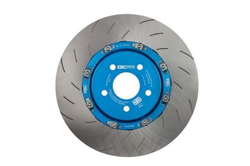 Focus MK3.5 RS EBC Racing 2 Pcs Floating Brake Discs Blue Centre Hub (Pair) To Fit Front SG2FC2030SF