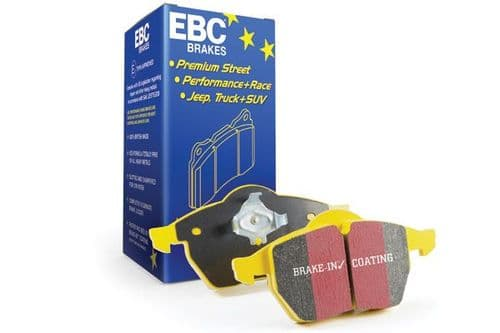 Focus MK3.5 RS EBC Yellowstuff 4000 Series Street And Track Brake Pad Set To Fit Rear DP41749R