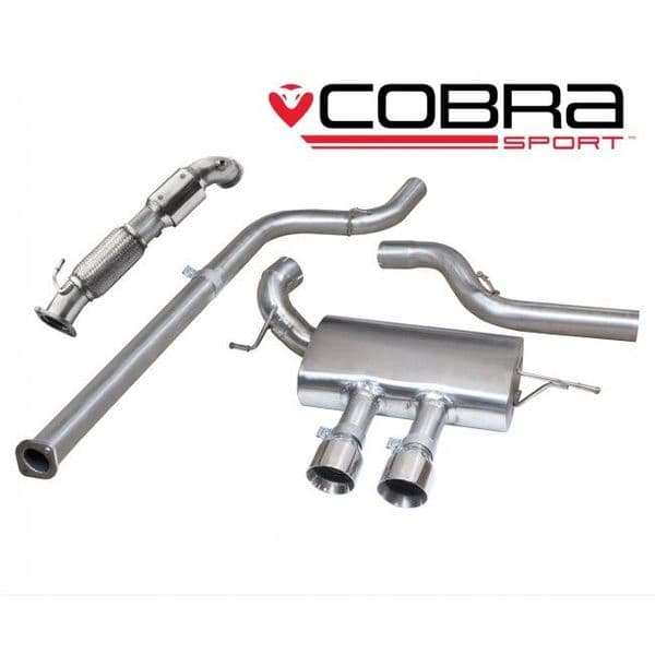 Focus ST 250 Performance Exhaust Turbo Back Exhaust (with Sports Catalyst / Non-Resonated)