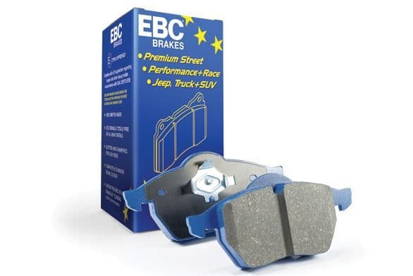 Focus ST MK7- EBC Bluestuff NDX Trackday Brake Pad Set To Fit Rear DP51218NDX