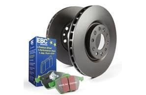 Focus ST MK7- EBC Brakes Pad And Disc Kit To Fit Rear PD01KR293
