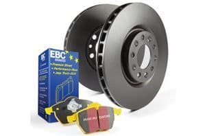 Focus ST MK7- EBC Brakes Pad And Disc Kit To Fit Rear PD03KR286