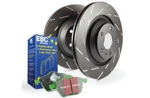 Focus ST MK7- EBC Brakes Pad And Disc Kit To Fit Rear PD06KR172