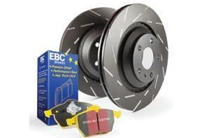 Focus ST MK7- EBC Brakes Pad And Disc Kit To Fit Rear PD08KR169