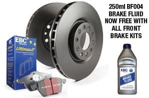 Focus ST MK7- EBC Brakes Pad And Disc Kit To Fit Rear PDKR326