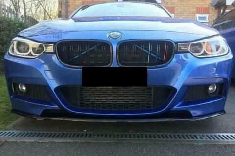 Front Lip Splitter-Bmw F30