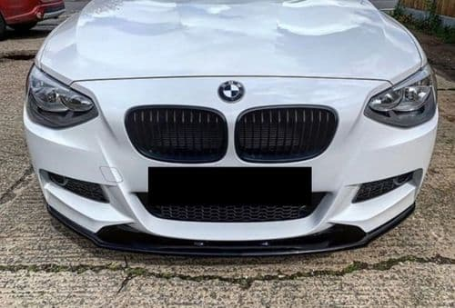 PACKAGE DEAL-Low Line Splitter Kit  and Spoiler Lip- -Bmw F20/F21 M-Sport Pre-Facelift