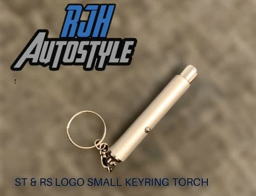 RJH MINI KEYRING TORCH WITH RS OR ST LOGO & AIR FRESHENER + STICKER