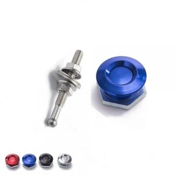 SD Performance Quick Release Push Clip Bonnet/Boot/Body Panel Fastener - 25mm OD/52mm length