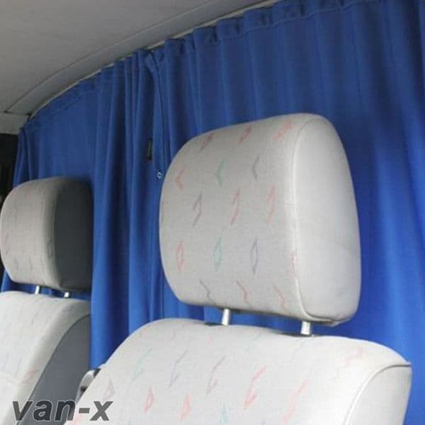 Van-X Cab Divider Curtain Kit for Transporter T5 & T6
