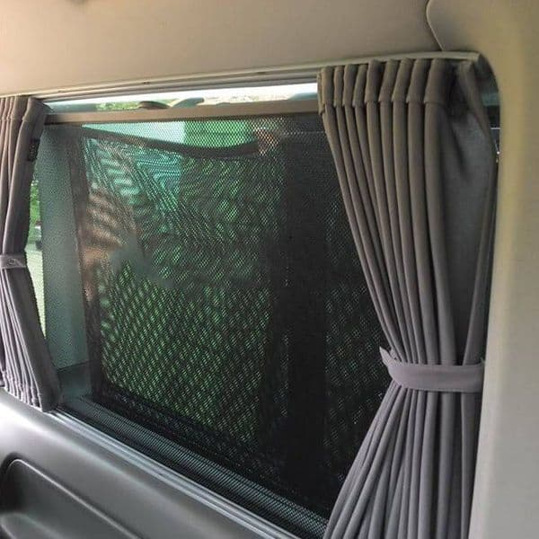 Van-X Eco-Line 2 x Side 1 x Tailgate Curtain Kits for Transporter T6