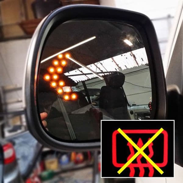 Van-X LED Wing Mirror Lens (Non-Heated) for Transporter T5