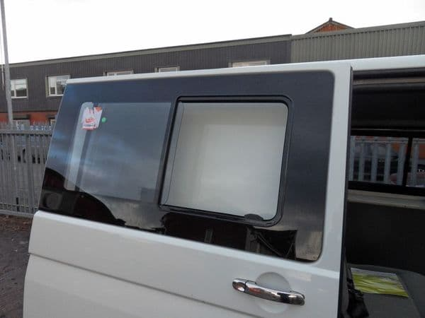 Van-X Side Sliding Window Smoked Glass for Transporter T6
