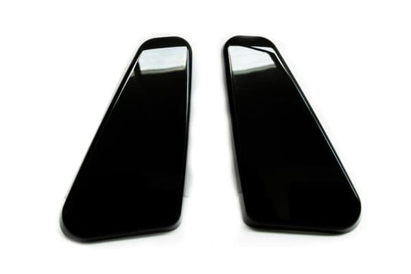 Van-X Twin Seat Hinge Caps + Armrest Styling Caps (Piano Black) for Transporter T5, T5.1 & T6