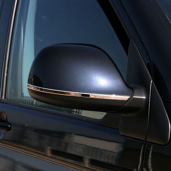 Van-X Wing Mirror Trims Stainless for Transporter T5 & T5.1