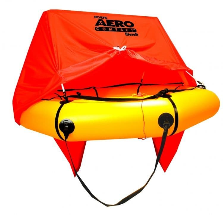 Aero Compact Two Man Aviation Survival Liferaft with Canopy