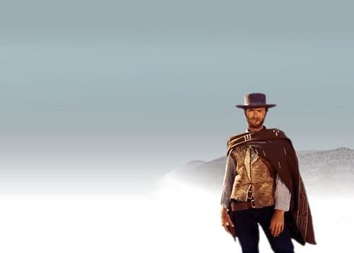 1960's Movie - CLINT EASTWOOD - THE GOOD canvas print - self adhesive poster - photo print