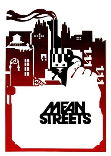 1970's Movie - MEAN STREETS - portrait 1 canvas print - self adhesive poster - photo print